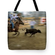 Run Little Doggie Tote Bag
