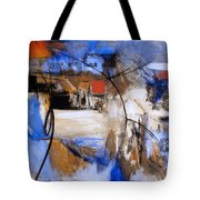 Run The Race Tote Bag