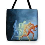 Run To Me Tote Bag
