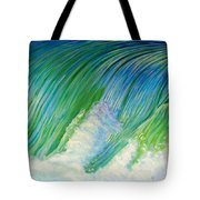 Run To The Sea Tote Bag