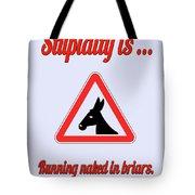 Running Bigstock Donkey 171252860 Tote Bag