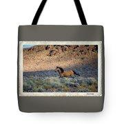 Running Buckskin Tote Bag
