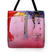 Running Colors Tote Bag by Danielle Allard