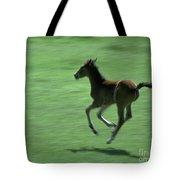 Running Colt Tote Bag
