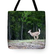 Running Deer Tote Bag