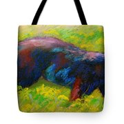 Running Free - Black Bear Cub Tote Bag