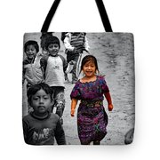Running In Color Tote Bag