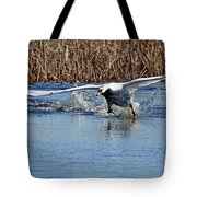 Running On Water Tote Bag