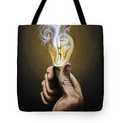 Running Out Of Ideas Tote Bag