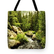 Running River Tote Bag