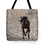 Running Through The Fields Tote Bag