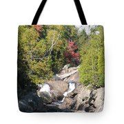 Running Through The Woods Tote Bag