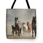Running To Water Tote Bag