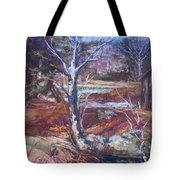 Running Upstream Tote Bag