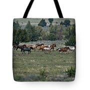 Running Wild Horses  Tote Bag