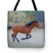 Running Wild Stallion Tote Bag