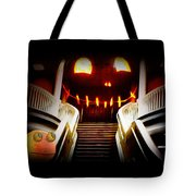 Rupert At The Staircase Tote Bag