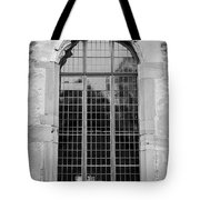 Ruprechtsbau Window B W Tote Bag
