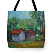 Rural Architecture Tote Bag