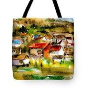 Rural City Tote Bag