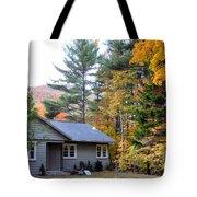 Rural Colorful Autumn Landscape 3 Tote Bag