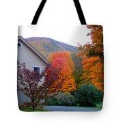 Rural Colorful Autumn Landscape 4 Tote Bag