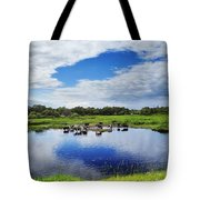 Rural Landscape Tote Bag