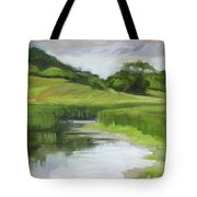 Rural Marsh Tote Bag