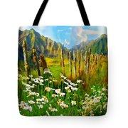 Rural New Zealand Tote Bag