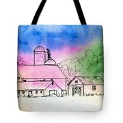 Rural Nostalgia Tote Bag