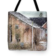 Rural Relic Tote Bag by Stephanie Calhoun