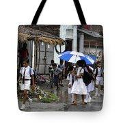Rural School Children  Tote Bag