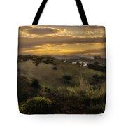 Rural Sunset In Spain Tote Bag