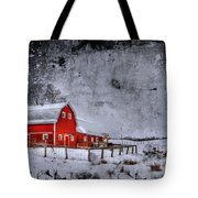 Rural Textures Tote Bag
