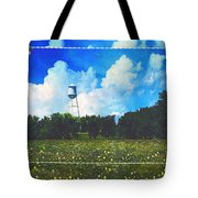 Rural Water Tower Unconventional Tote Bag