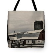 Rural Winter Tote Bag