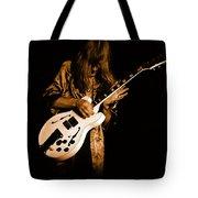 Rush 77 #15 Enhanced In Amber Tote Bag