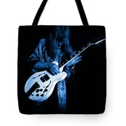 Rush 77 #15 Enhanced In Blue Tote Bag