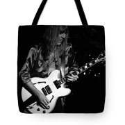 Rush 77 #17 Enhanced Bw Tote Bag