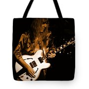 Rush 77 #17 Enhanced In Amber Tote Bag