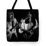 Rush 77 #46 Enhanced Bw Tote Bag