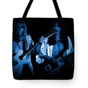 Rush 77 #46 Enhanced In Blue Tote Bag
