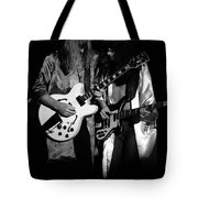 Rush 77 #52 Enhanced Bw Tote Bag