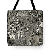 Rush Hour - Sepia Tote Bag