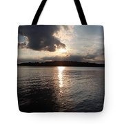 Rush Lake  Tote Bag