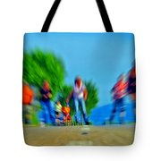 Rush On Skates Tote Bag