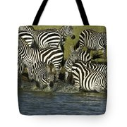 Rush To Water Tote Bag