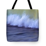 Rushing To Shore Tote Bag