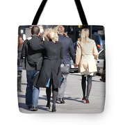 Rushing To The Alter Tote Bag
