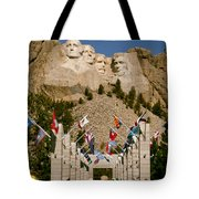 Rushmore State Flags Tote Bag